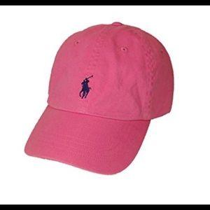 Pink Polo Baseball Cap
